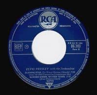 ELVIS PRESLEY Surrender EP Vinyl Record 7 Inch French RCA 1961